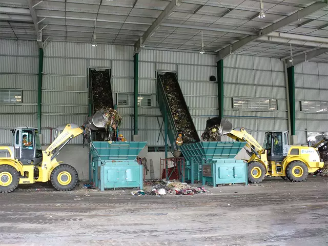 municipal solid waste segregation machine manufacturer